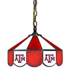 """Texas A&M 14"""" Swag Hanging Lamp"""