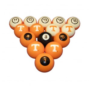 Tennessee Billiard Ball Set