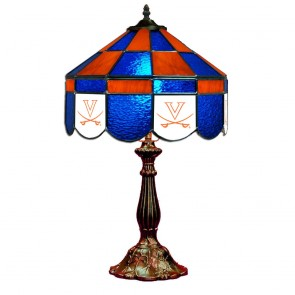 """Virginia V with Sabres 14"""" Executive Table Lamp"""