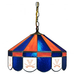 "Virginia V with Sabres 16"" Swag Hanging Lamp"