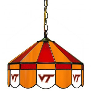 "Virginia Tech 16"" Swag Hanging Lamp"