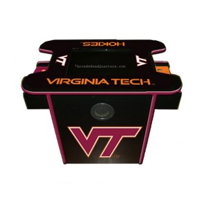 Virginia Tech Arcade Console Table Game