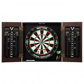 Viper Hideaway Steel Tip Cabinet and Dartboard Set